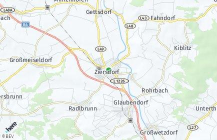 Stadtplan Ziersdorf
