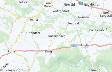 Stadtplan Röhrenbach
