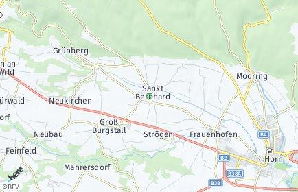 Stadtplan Sankt Bernhard-Frauenhofen