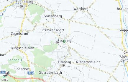Stadtplan Straning-Grafenberg