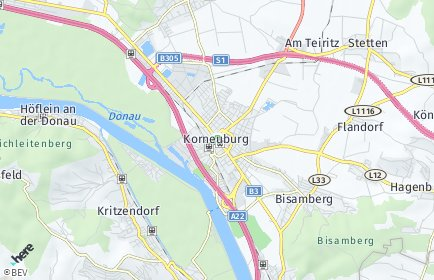Stadtplan Korneuburg