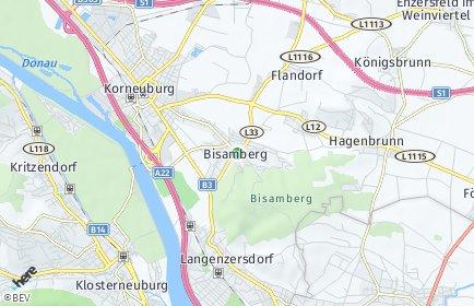 Stadtplan Bisamberg