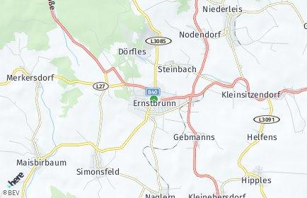 Stadtplan Ernstbrunn
