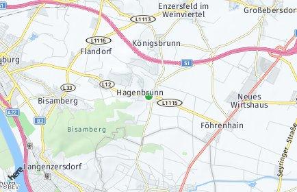Stadtplan Hagenbrunn