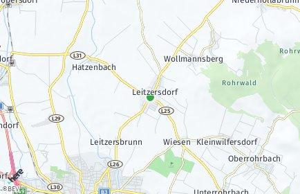 Stadtplan Leitzersdorf