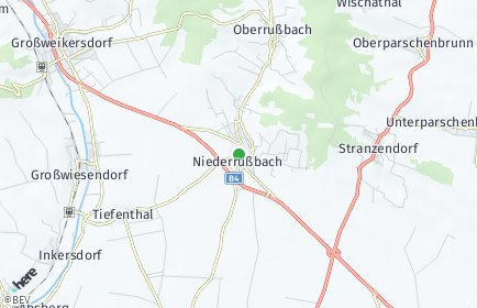 Stadtplan Rußbach (Niederösterreich)
