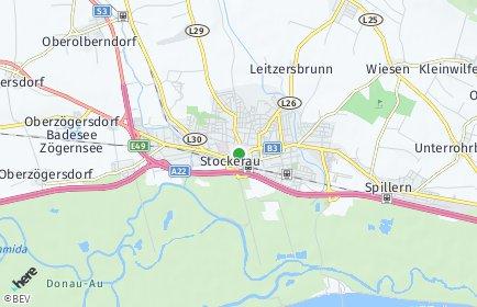 Stadtplan Stockerau OT Stockerau
