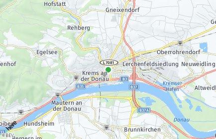 Stadtplan Krems-Land