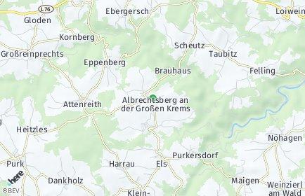 Stadtplan Albrechtsberg an der Großen Krems