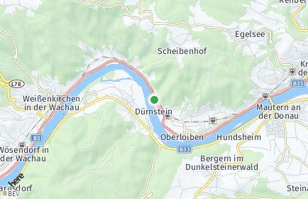 Stadtplan Dürnstein