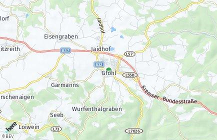 Stadtplan Gföhl