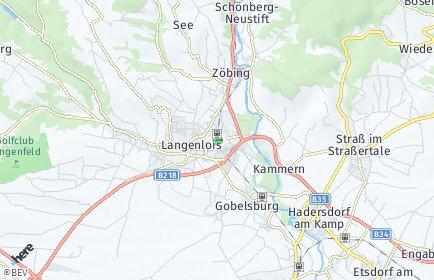 Stadtplan Langenlois
