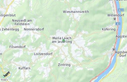 Stadtplan Maria Laach am Jauerling