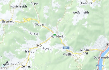 Stadtplan Mühldorf (Niederösterreich)