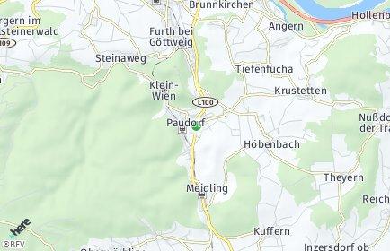 Stadtplan Paudorf