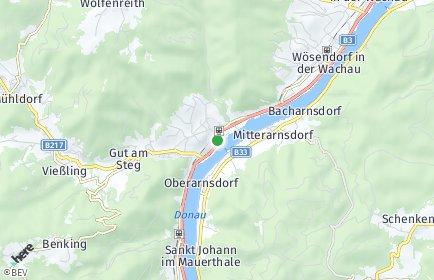 Stadtplan Spitz