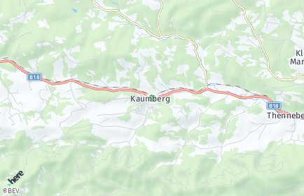 Stadtplan Kaumberg
