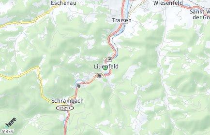 Stadtplan Lilienfeld