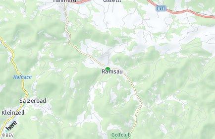 Stadtplan Ramsau (Niederösterreich)
