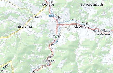 Stadtplan Traisen