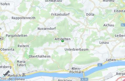 Stadtplan Artstetten-Pöbring