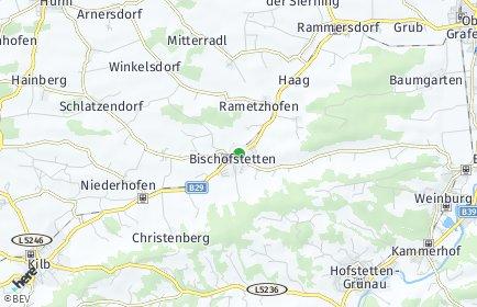 Stadtplan Bischofstetten