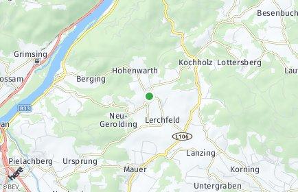 Stadtplan Dunkelsteinerwald OT Häusling