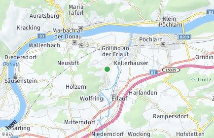 Stadtplan Golling an der Erlauf
