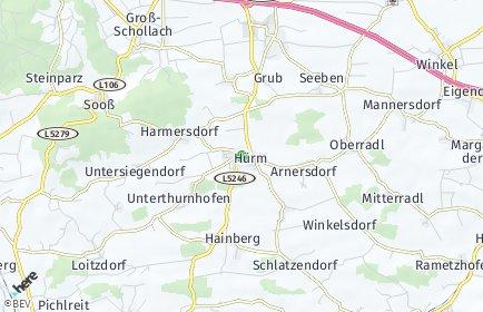 Stadtplan Hürm