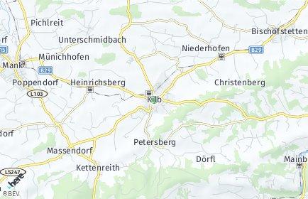 Stadtplan Kilb