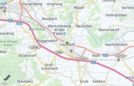 Stadtplan Loosdorf