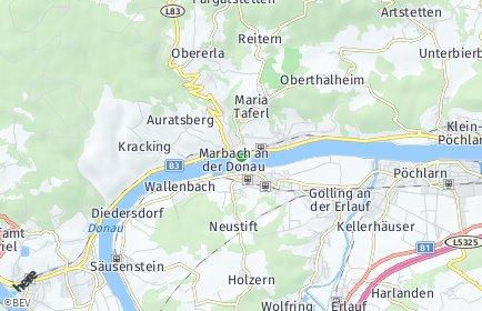 Stadtplan Marbach an der Donau