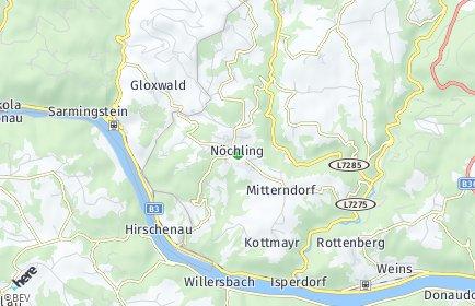 Stadtplan Nöchling