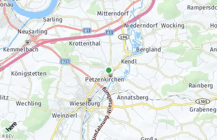 Stadtplan Petzenkirchen