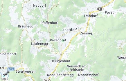 Stadtplan Raxendorf