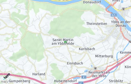 Stadtplan Sankt Martin-Karlsbach