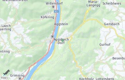 Stadtplan Schönbühel-Aggsbach