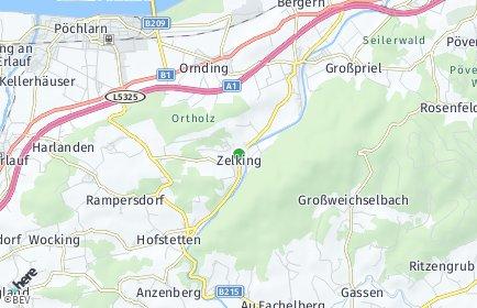 Stadtplan Zelking-Matzleinsdorf