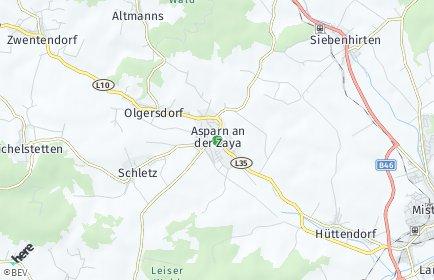 Stadtplan Asparn an der Zaya