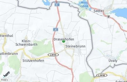 Stadtplan Drasenhofen