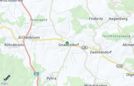 Stadtplan Gnadendorf