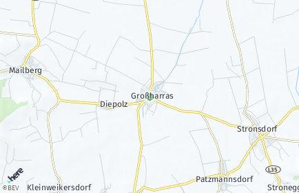 Stadtplan Großharras