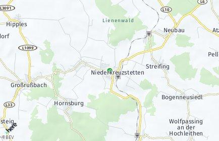 Stadtplan Kreuzstetten