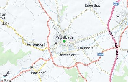 Stadtplan Mistelbach OT Ebendorf