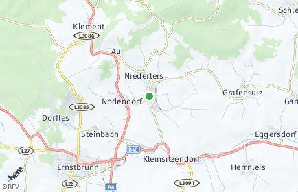 Stadtplan Niederleis