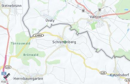 Stadtplan Schrattenberg