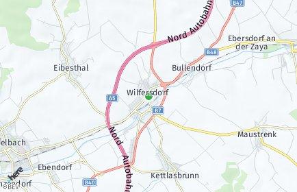 Stadtplan Wilfersdorf