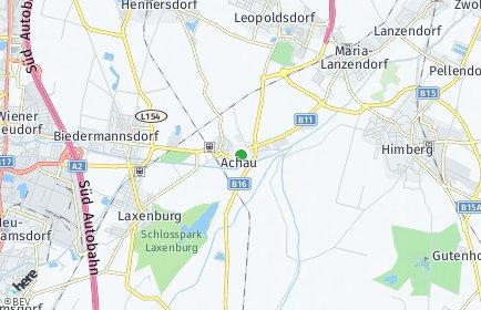 Stadtplan Achau