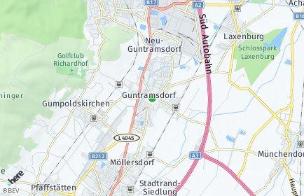 Stadtplan Guntramsdorf