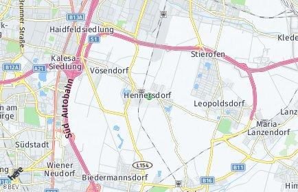 Stadtplan Hennersdorf